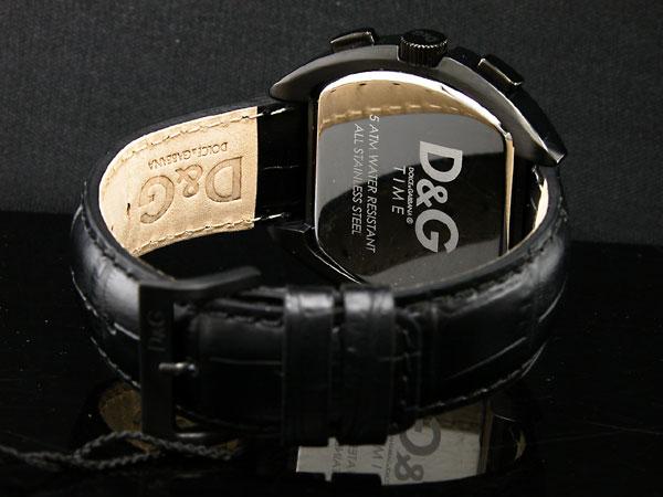 ドルチェ&ガッバーナ D&G ハイセキュリティ クロノグラフ 腕時計 DW0214-3