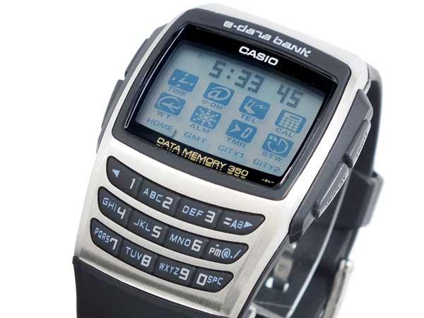 カシオ CASIO データバンク DATA BANK 腕時計 EDB610-1-1