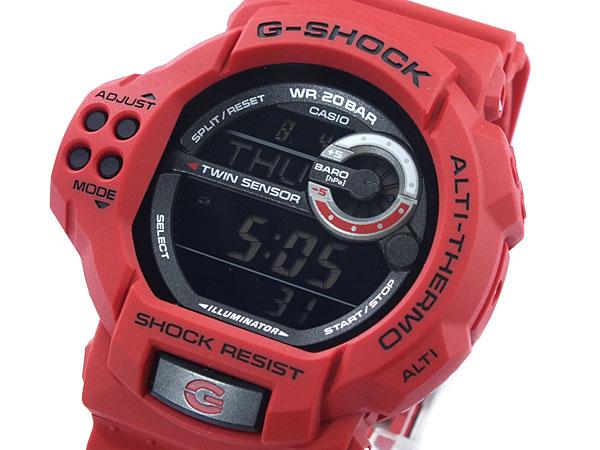 カシオ CASIO Gショック G-SHOCK ツインセンサー 腕時計 GDF100-4E-1
