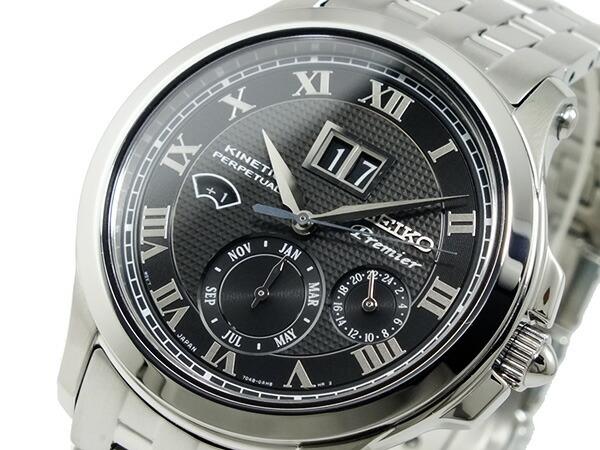 セイコー SEIKO プルミエ キネティック パーぺチュアル 腕時計 SNP041P1-1