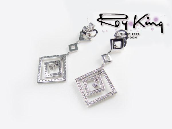 ロイキング RoyKing ピアス シルバー925 1184-ED-04 レディース-1