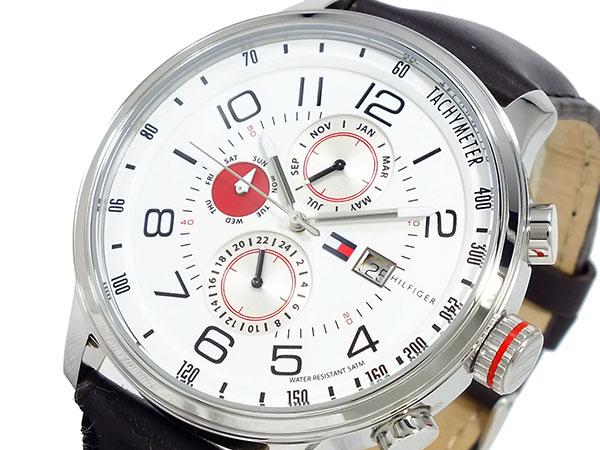 トミーヒルフィガー TOMMY HILFIGER メンズ 腕時計 1790858 ホワイト-1