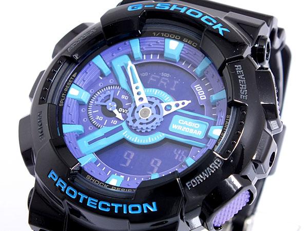 カシオ CASIO Gショック G-SHOCK ハイパーカラーズ 腕時計 GA110HC-1A メンズ-1
