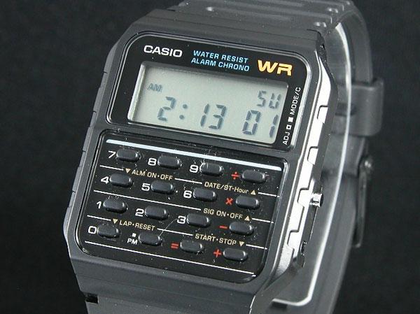 カシオ CASIO カリキュレーター 腕時計 CA53W-1-1
