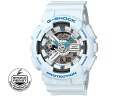 Casio CASIO G shock g-shock ブリージーカラーズ an analog-digital watch GA 110SN-7 white