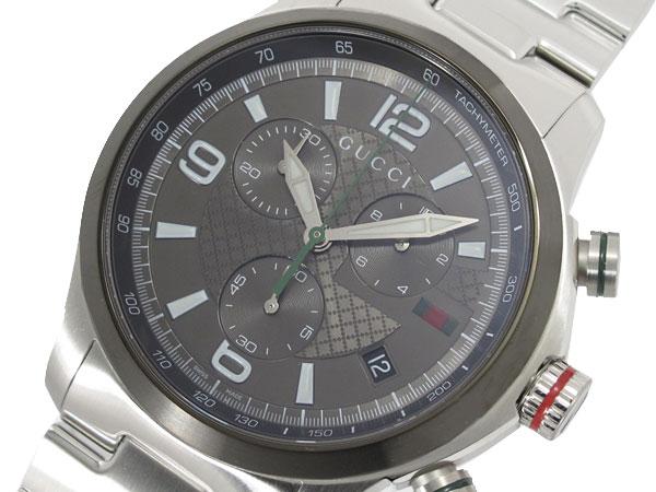 GUCCI グッチ 腕時計 メンズ クロノグラフ YA126238-1
