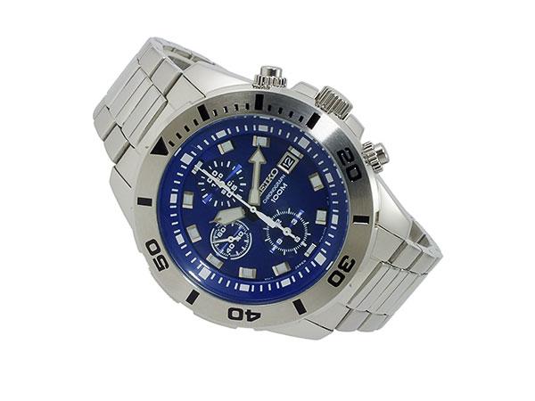 セイコー SEIKO クロノグラフ 腕時計 SNDD97P1-2