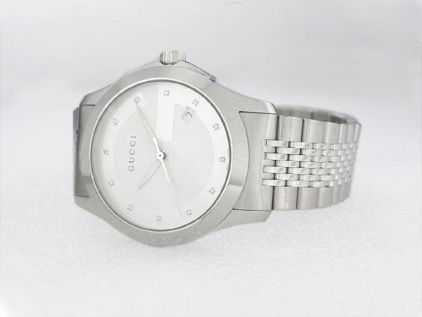 GUCCI グッチ Gタイムレス 腕時計 メンズ YA126404-2