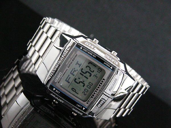 カシオ CASIO データバンク DATA BANK 腕時計 シルバー DB360-1A-2