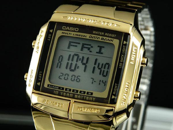 カシオ CASIO データバンク DATA BANK 腕時計 ゴールド DB360G-9A-1
