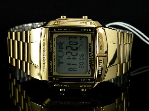 カシオ CASIO データバンク DATA BANK 腕時計 ゴールド DB360G-9A-2