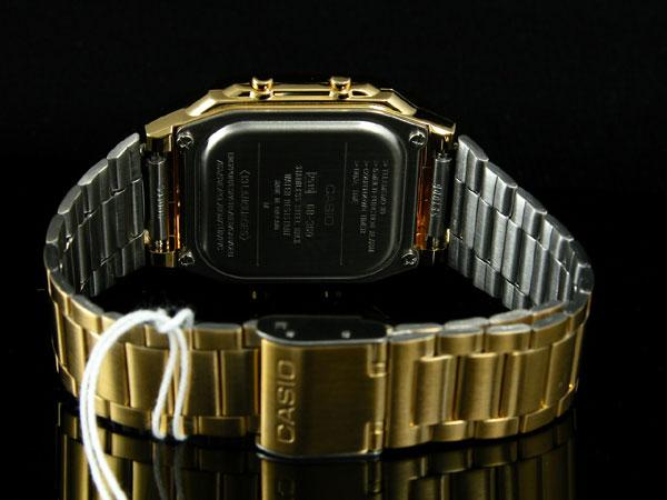 カシオ CASIO データバンク DATA BANK 腕時計 ゴールド DB360G-9A-3