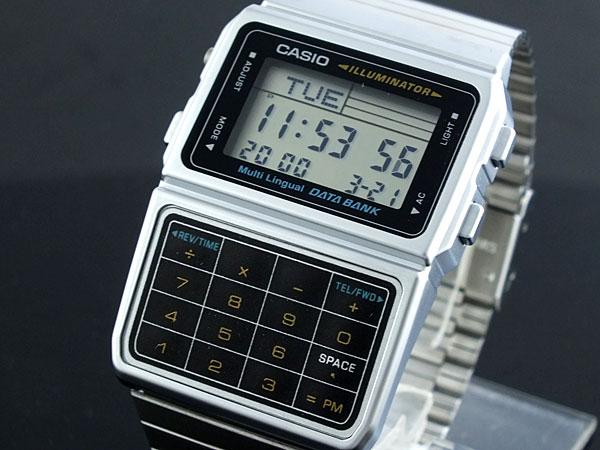 カシオ CASIO データバンク DATA BANK 腕時計 DBC611-1-1