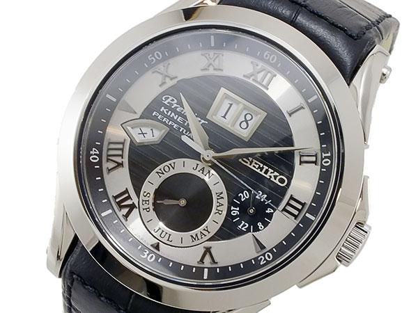 セイコー SEIKO プルミエ キネティック パーぺチュアル 腕時計 SNP061P1-1
