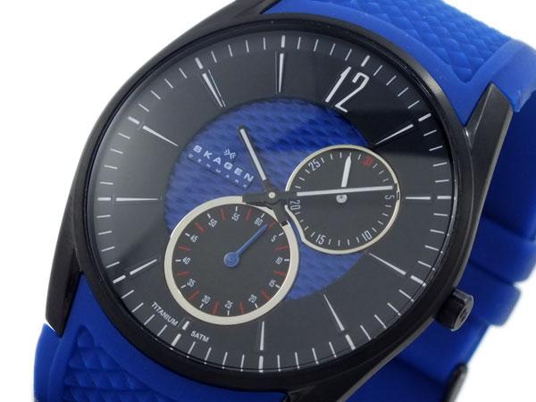 スカーゲン SKAGEN ラバー チタニウム 腕時計 435XXLTNRN-1
