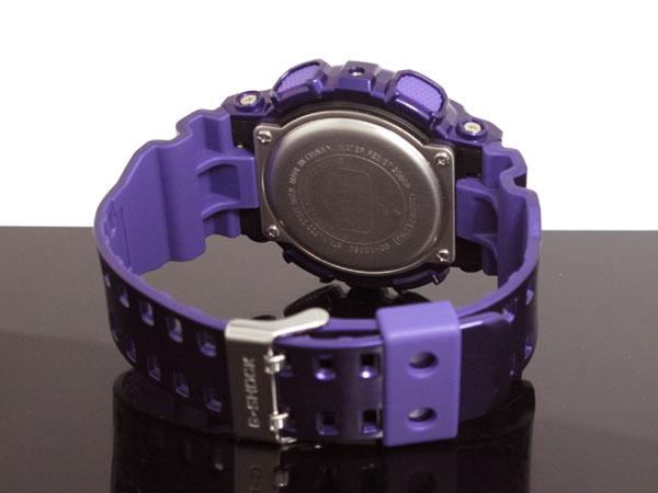 カシオ CASIO Gショック G-SHOCK 逆輸入 高輝度LED メンズ デジタル 腕時計 GD-100SC-6 パープル×ピンク-3