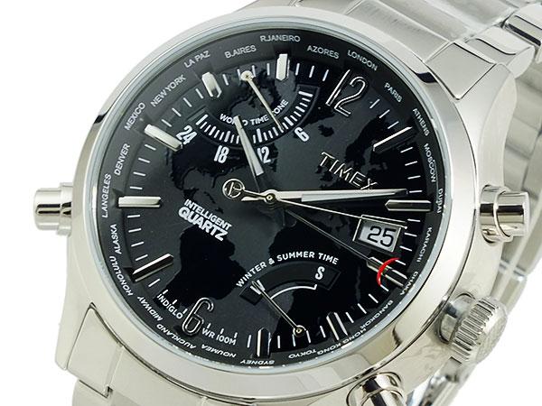 タイメックス TIMEX ワールドタイム インテリジェントクオーツ 腕時計 T2N944-1