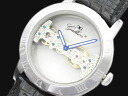 GALLUCCI Gallucci skeleton rolling by hand watch WT23374SK-SSBK