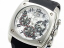 ドルチェメディオ DOLCE MEDIO chronograph watch DM12203-SSWHBK