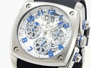 ドルチェメディオ DOLCE MEDIO chronograph watch DM12203-SSWHBL men