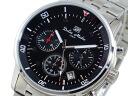 ドルチェメディオ DOLCE MEDIO chronograph watch DM12205-SSBK