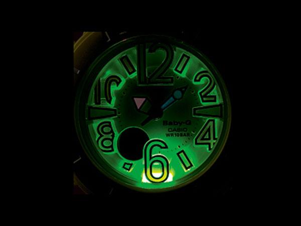 カシオ CASIO ベビーG Baby-G 腕時計 ネオン アナデジ BGA-170-9B レディース イエロー ラバーベルト-2