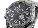 51-30 Nixon NIXON watch A057-479 ANTIQUE SILVER/BLACK