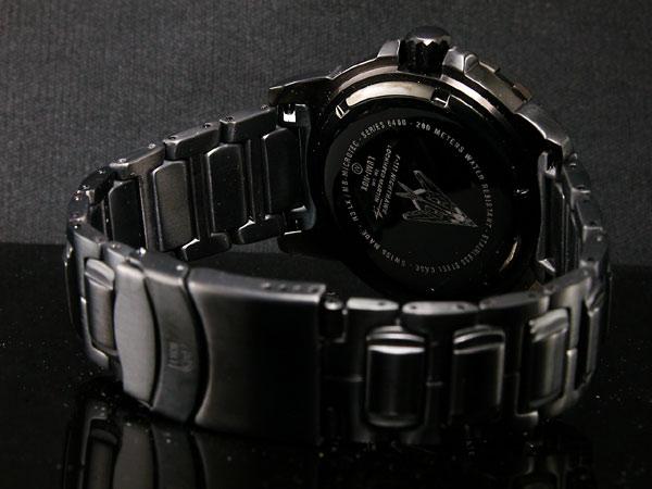 ルミノックス LUMINOX ロッキードコレクション F117 ナイトホーク メンズ 腕時計 6402 ブラック メタルベルト-3