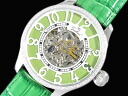 GALLUCCI Gallucci skeleton men Swarovski watch WT23263SK-GR