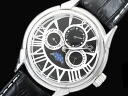 GALLUCCI Gallucci moon phase multi-function watch men WT23368MF-SSBK