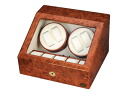 Four LUWH wooden watch winder / winding machine storing LU30004RD fs04gm