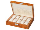 Ten LUWH wooden watch box / watch storing case storing LU50010RW