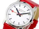 Mon Dean MONDAINE watch A672.30351.11SBC red fs04gm