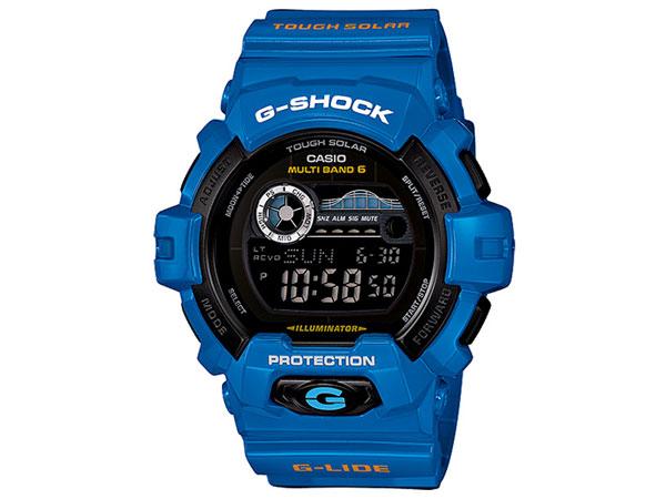 カシオ CASIO Gショック G-SHOCK G-LIDE 腕時計 GWX-8900D-2 ブルー-1