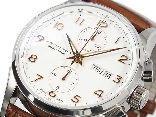 ハミルトン HAMILTON ジャズマスター マエストロ クロノグラフ 自動巻き 腕時計 H32576515-1