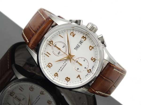 ハミルトン HAMILTON ジャズマスター マエストロ クロノグラフ 自動巻き 腕時計 H32576515-2