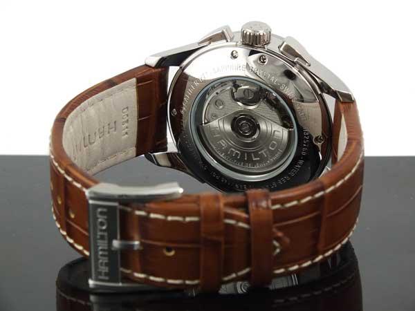 ハミルトン HAMILTON ジャズマスター マエストロ クロノグラフ 自動巻き 腕時計 H32576515-3