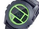 Nixon NIXON バジャ BAJA digital men watch A489-027 BLACK NEON GREEN black X neon green
