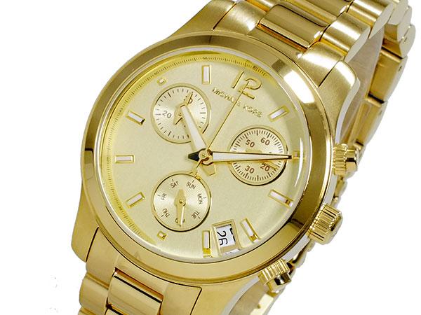 マイケルコース MICHAEL KORS クロノグラフ レディース 腕時計 MK5384 ゴールド メタルベルト ブレスレット-1