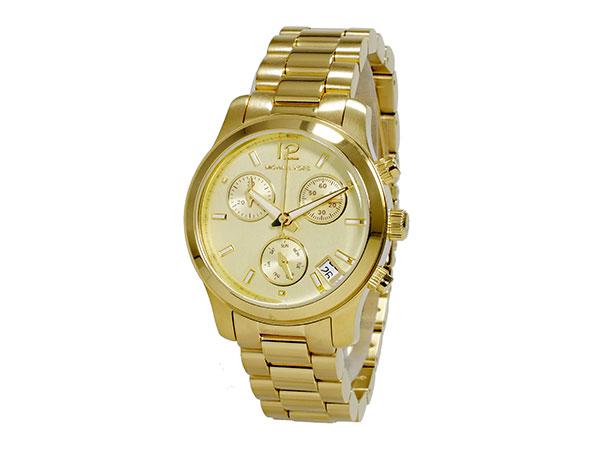 マイケルコース MICHAEL KORS クロノグラフ レディース 腕時計 MK5384 ゴールド メタルベルト ブレスレット-2
