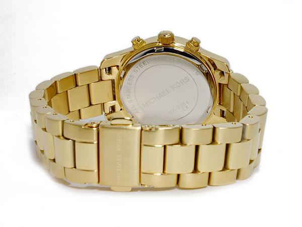 マイケルコース MICHAEL KORS クロノグラフ レディース 腕時計 MK5384 ゴールド メタルベルト ブレスレット-3
