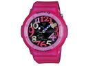 Casio CASIO baby G BABY-G neon dial watch BGA-131-4B4 pink