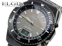L gin ELGIN solar electric wave watch FK1371B-BP