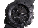 3081 Lumi Knox LUMINOX navy Shields chronograph watch BLACK OUT