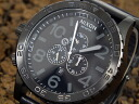 51-30 Nixon NIXON CHRONO watch A124-001 ALL BLACK