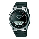 Casio CASIO an analog-digital watch AW-80-1 A men's black