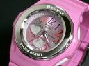 Casio baby-g watches Gemmy Dial BGA101-4B Womens pink