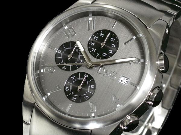 D&G ドルチェ&ガッバーナ 腕時計 クロノグラフ サンドパイパー 3719770123-1