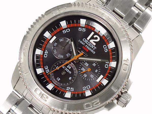 オリエント ORIENT 腕時計 ソーラー 200m防水 メンズ CVF04001B-1