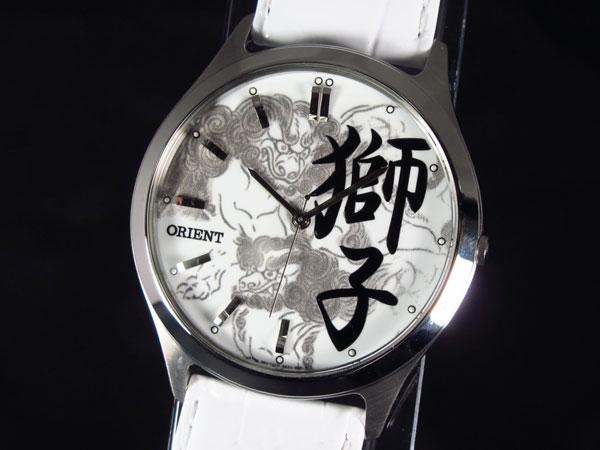 オリエント ORIENT 腕時計 漢字「獅子」 FQB2U002W0-1
